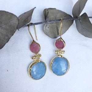 Dione Double Drop Earrings