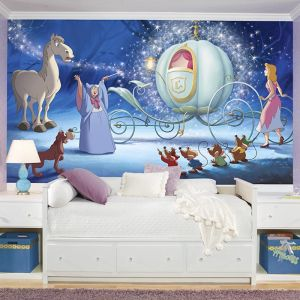 Disney Cinderella Carriage Ride | Wallpaper Mural
