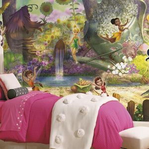 Disney Fairies Pixie Hollow | Wallpaper Mural