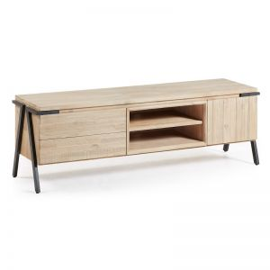 Disset Solid Timber TV Cabinet | 165 cm