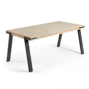 Disset Timber Dining Table   160 cm