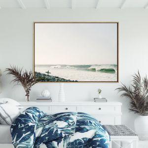 Do I Stay or Do I Go | Drop Shadow Framed Wall Art