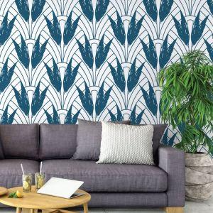 Dolores - Nature's Glamour Collection | Eco Wallpaper | Dolores Blue | Amba Florette