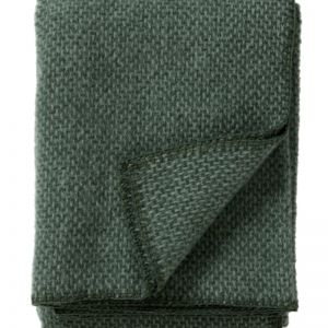 Domino Wool Blanket | Green