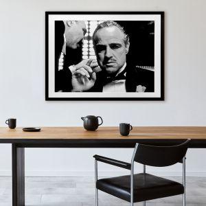 Don Corleone | Framed Art Print