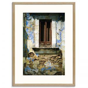 Doors of Italy - Piccola Finestra | Canvas or Art Print | Framed or Unframed