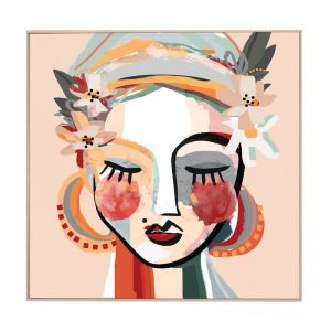 Dotti | Framed Canvas Art Print