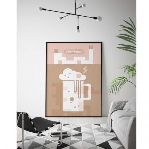 Download Beer | Limited Edition Unframed Print | by Arti Shah