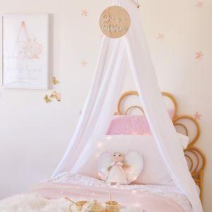 Drape Kids Room and Nursery Canopy | White