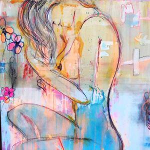 Dream Girl | Original Canvas Artwork by Melissa La Bozzetta