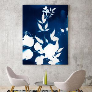 Drifting Blues I | Canvas Art
