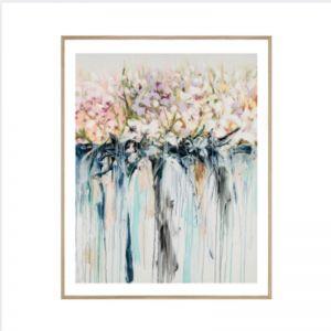 Drip Flowers | Framed Print | P1004-289 | Colour Clash Studio