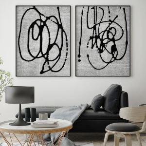 Duality I   Framed Art Print