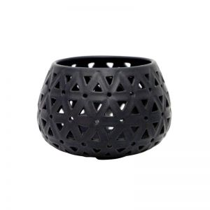 Dubai Tealight Holder | Black | CLU Living