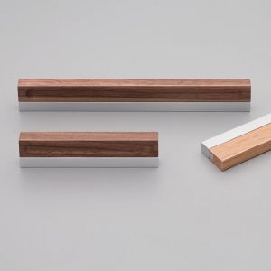 Duet Handle | Timber & Aluminium