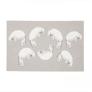 Dugong Linen & Cotton Tea Towel | Emilie O'Connor Homestore