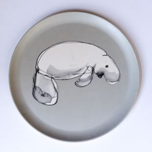 Dugong Plate | Emilie O'Connor Homestore