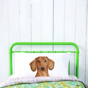 Duke the Dachshund Pillowcase | by For Me By Dee