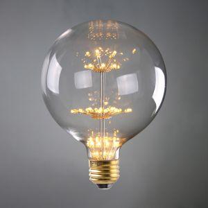 E27 LED Firework Bulb Globe 2W G125 | 1 Pack