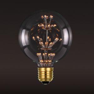 E27 LED Firework Bulb Globe 2W G80 | 1 Pack