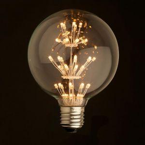 E27 LED Firework Bulb Globe 2W G95 | 1 Pack