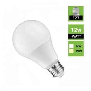 E27 Screw Head Globe 12W LED Ivory Bulb 240V Milky - 1 Pack