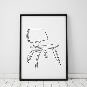 Eames | Iconic Art Print | Framed or Unframed