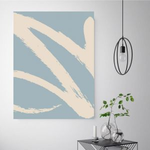 Easy Street Pastel | Canvas Wall Art by Beach Lane
