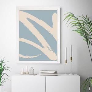 Easy Street Pastel | Framed Wall Art by Beach Lane