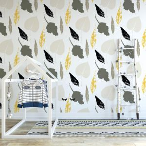 Easy To Beleaf - Nature's Child | Eco Wallpaper | Amba Florette
