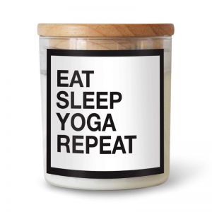 Eat Sleep Yoga Repeat Soy Candle