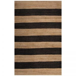 Ebony Natural | Hand Woven Jute Rug