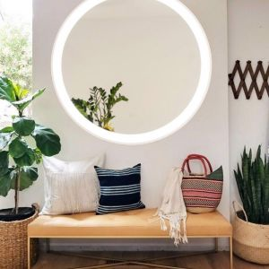Eclipse Round LED Mirror