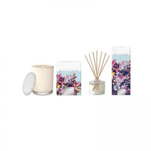 Ecoya Madison Candle & Diffuser Set | Cassis Berry & Mango Summer Edition