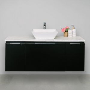 Edge 20mm Solid Surface Top 1200 Wall Mount Vanity