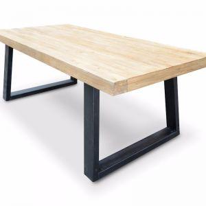 Edwin Reclaimed Elm Wood Dining Table   1.98m