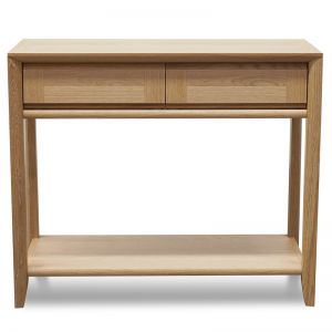 Eldora Console Table With Drawers | Oak