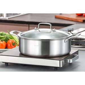 Electric Induction Cooktop | 28cm | Stainless Steel