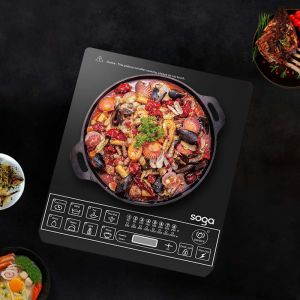Electric Induction Cooktop | 34cm Cast Iron