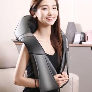 Electric Kneading Back Neck Shoulder Massage Arm Body Massager Black