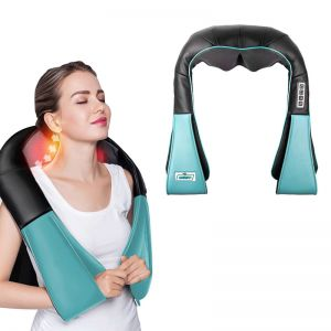 Electric Kneading Back Neck Shoulder Massage Arm Body Massager Blue