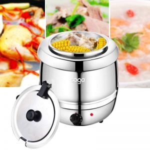 Electric Soup Maker   Stainless Steel