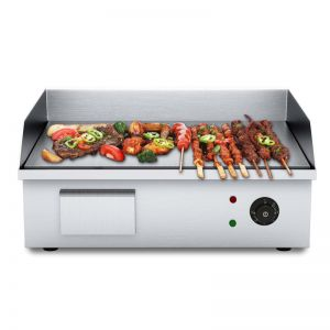 Electric Stainless Steel BBQ Hot Plate | 2200W | 56*48*23cm