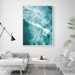 Elements | Floating Framed Canvas Art