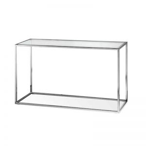 Elle Cube Console Stainless
