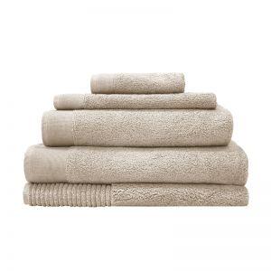 Elvire Bath Towel Range - Buff