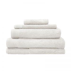 Elvire Bath Towel Range | Ivory