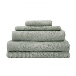 Elvire Bath Towel Range | Sage