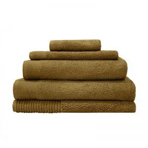 Elvire Bath Towel Range | Tobacco