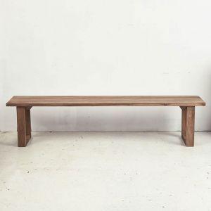 Elyas Rustic Bench Seat